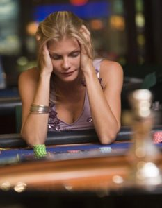 Woman and Gambling Problem